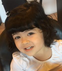 kids haircut bangs