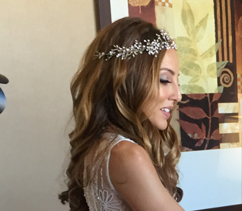 special occasion wedding hair curls