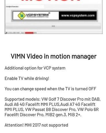 #vcp#vagcanpro#videoinmotion#vim vanaf h