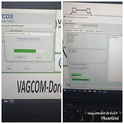 #Vcds #release #19.6 incl firmware updat