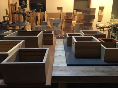 箱式  無垢材の可能性