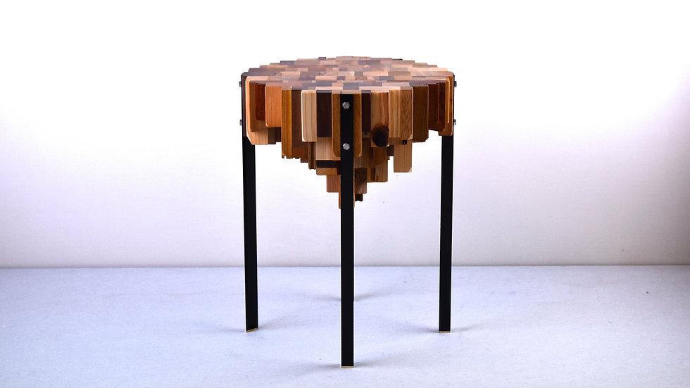 廃材を使ったテーブル