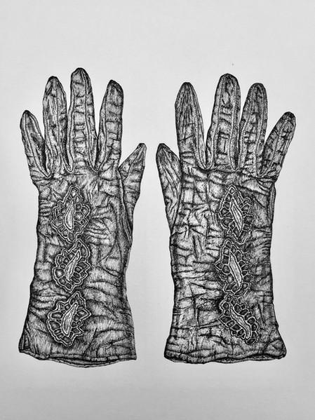 Grandmas gloves, 2018