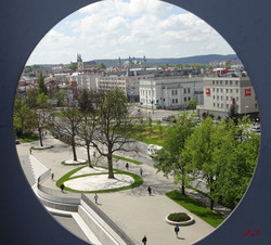 9-widok na centrum Kielc
