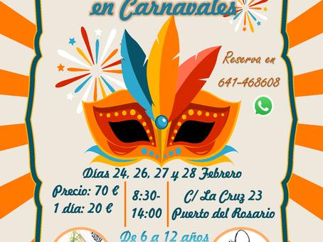 Campamento de robótica en Carnavales
