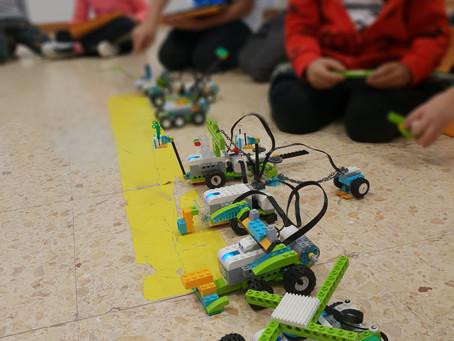 Reto vehículos diseño libre con Lego