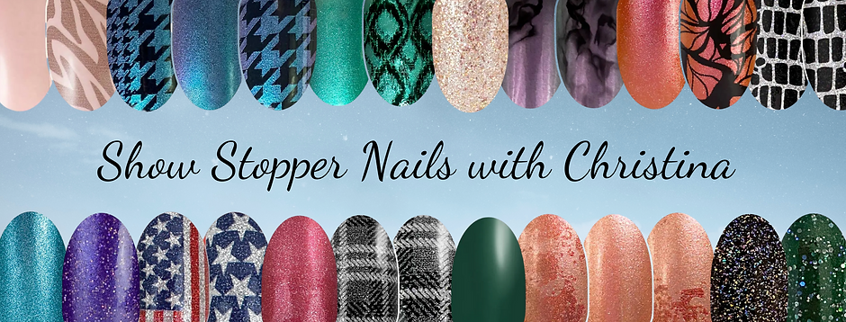 Show Stopper Nails with Christina cover