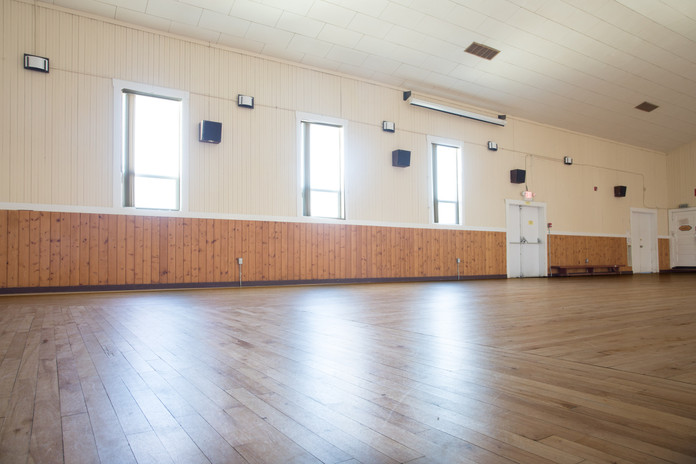 Matsqui Community Hall Interior