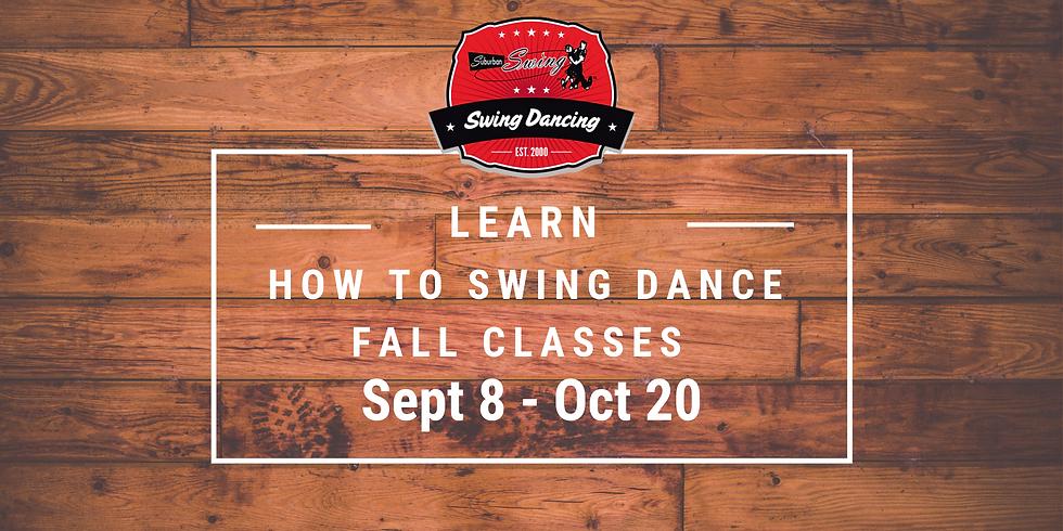 Swing One - Beginner Swing Dance Classes