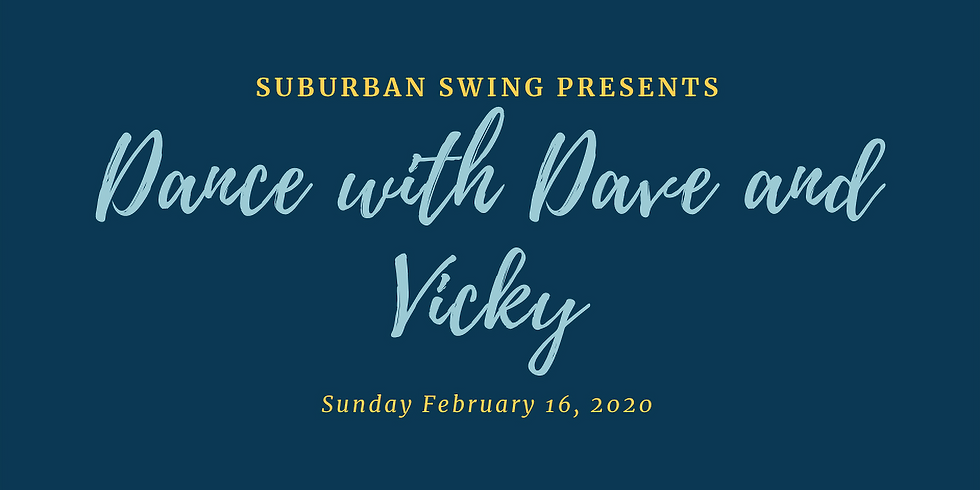 Dance with Dave and Vicky