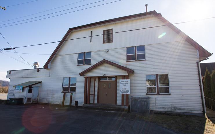 Matsqui Community Hall Exterior