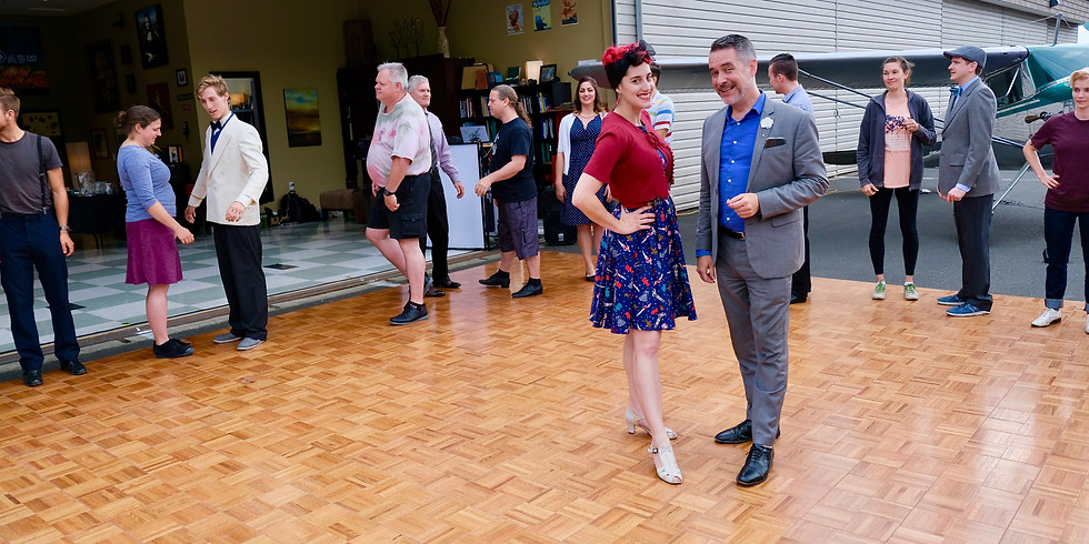 Intermediate/Advanced Lindy Hop with Peter Flahiff and Lauren Smith April series
