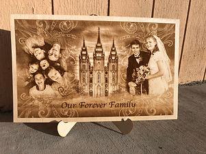 Forever Family Engraving