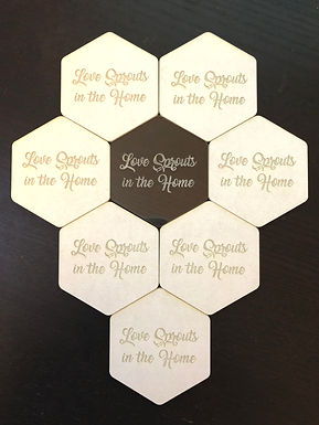 8 - Love Sprouts in the Home Coasters