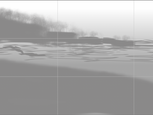 Greyscale Conceptual Drawings