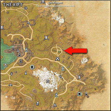 Lost Prospect XP Grind Location ESO - 2.