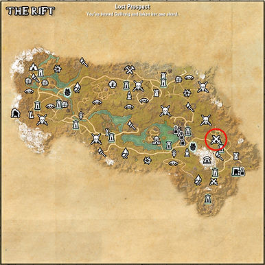 Lost Prospect XP Grind Location ESO - 1.