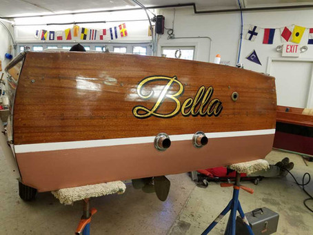 Chris Craft Utility 'Bella'