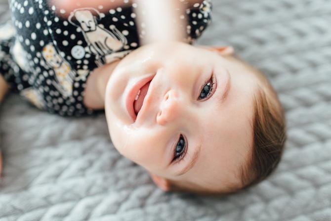 Acompanhamento de bebê - Ada 8 meses