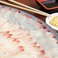 Sashimi de Tilápia 1/2 Porção