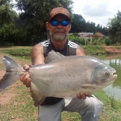 Pescador_ Ronaldo_Isca_ ração Acquamil �