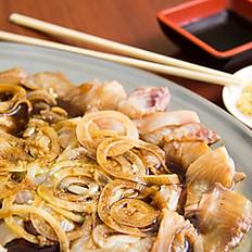 Sashimi Temperado de Tilápia 1/2 Porção