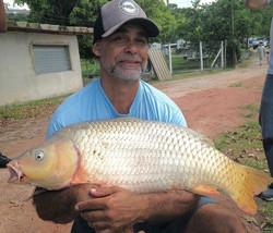 Pescador_ Ronaldo_Isca_ Ração na pinga_�