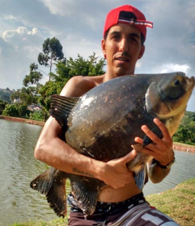 Pescador_ Erick_Isca_ Ração na pinga_🎣�