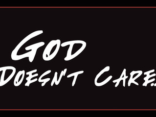 God doesn't care