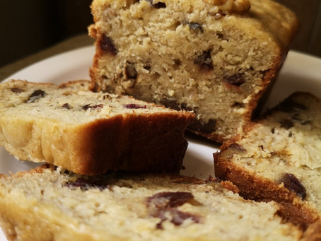 Banana Date Walnut Cake