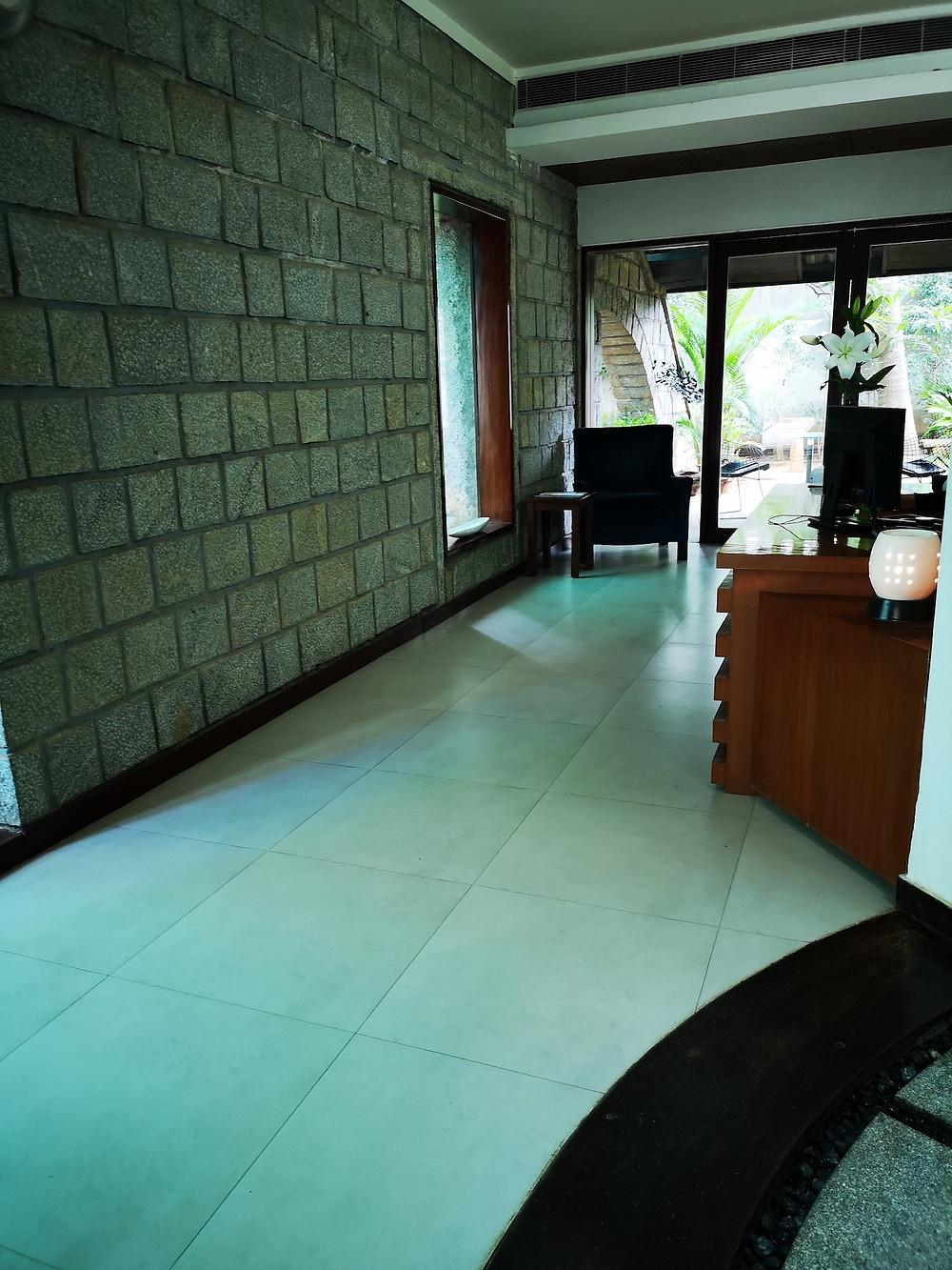 White Mantra Spa Salon Reception Area