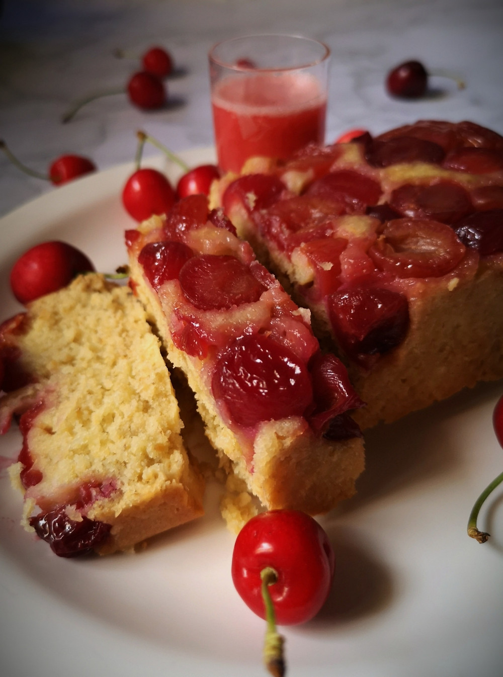 Cherry Crisp Shortbread, your perfect summer dessert.