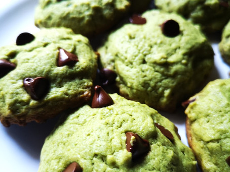 Fresh Mint Chocochip Cookies
