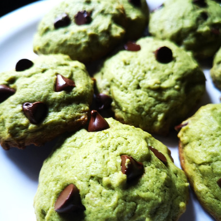 Fresh Mint Chocochip Cookies