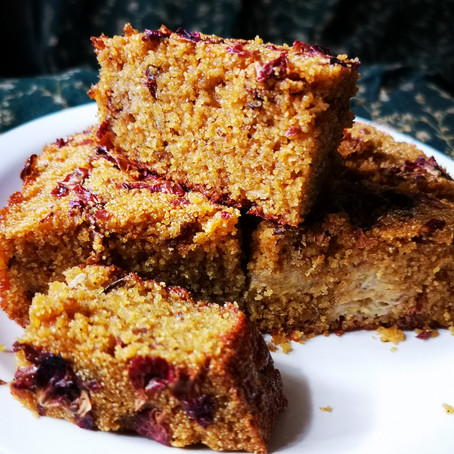 Suji (Semolina) Cardamom Rose Cake