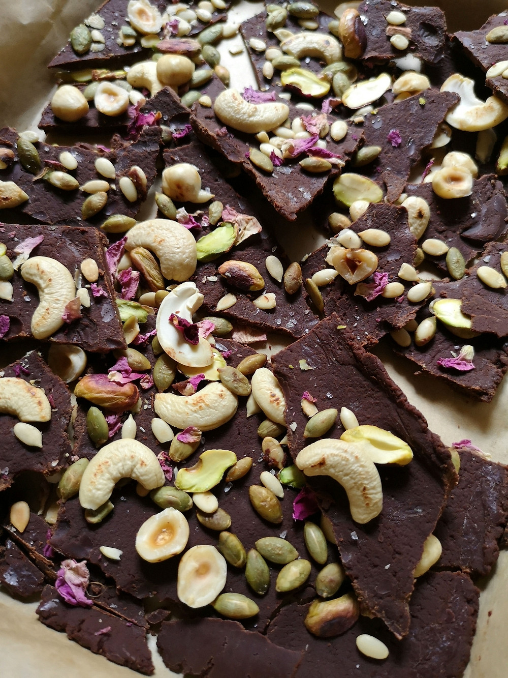 Chocolate Barks, your quick fix