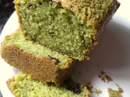 Fresh Mint Tea Cake