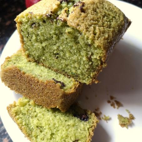 Fresh Mint Tea Cake