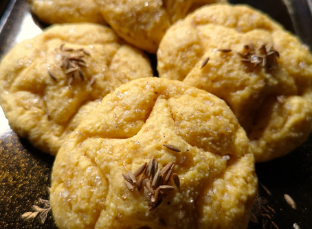 Sugar Jeera Cookies