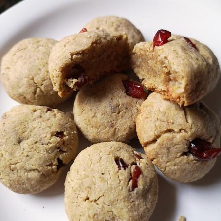 Coconut Cranberry Cookies