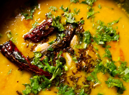 Delicious Dal with Tadka