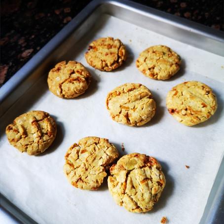 Jowar Orange Rind Eggless Cookies