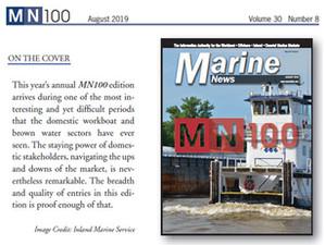 Marine News - Top 100 Maritime Firms - August 2019
