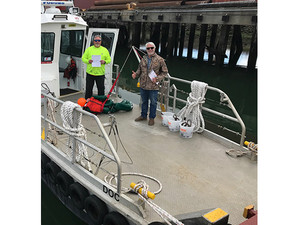 Golden State Bridge, Inc.Subchapter T Boat Receives COI after performing a One-Person MOB Recovery