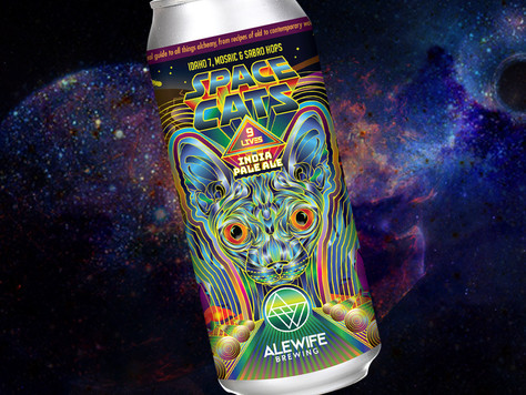 NEW BEER ALERT! Space Cats - 'Nine Lives IPA' - February 17th.