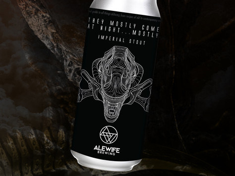 NEW BEER 2/4/21 - They Mostly Come At Night... Mostly Imperial Stout