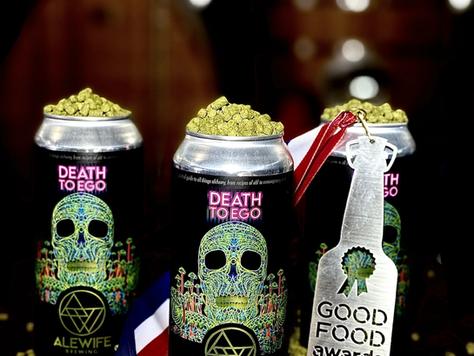 Good Food Award 2021 'Death To Ego IPA' WINS!!