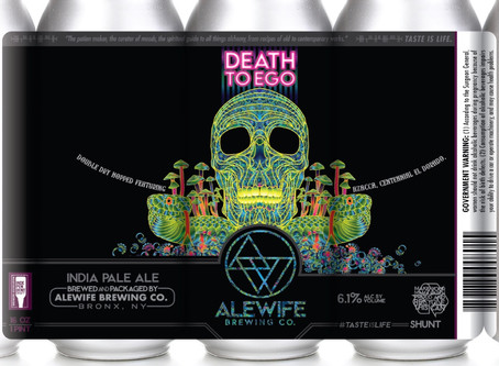 Double Dry-Hopped Death To Ego IPA
