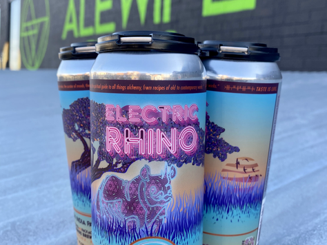 NEW BEER ALERT - The Rhino is unleashed! 3/10/21