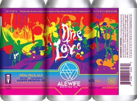 A beer for Pride month: One Love IPA